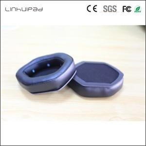 Image 5 - Linhuipad 1 pair V Moda headset ear cushion memory foam ear pads protein earpads fit on V Moda Crossfade M 100 LP2 LP