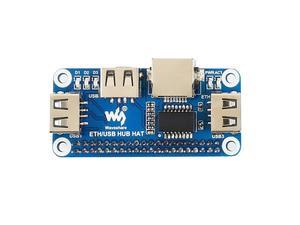 Image 4 - Waveshare ethernet/usb hub hat para raspberry pi 1x porta ethernet rj45 3x portas usb 5 v