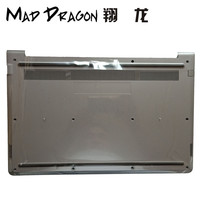 MAD DRAGON Brand Laptop new Bottom Base Bottom Cover Assembly for Dell Vostro 15 5568 V5568 v5568 0JD9FG JD9FG Lower Cover Gray