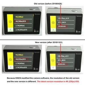 Image 4 - EKEN H5S プラス超 HD アクションカメラタッチスクリーンタマゴノキ A12 EIS 4 18k/30fps 720 p/200fps 30 メートル防水囲碁ヘルメットプロスポーツカム
