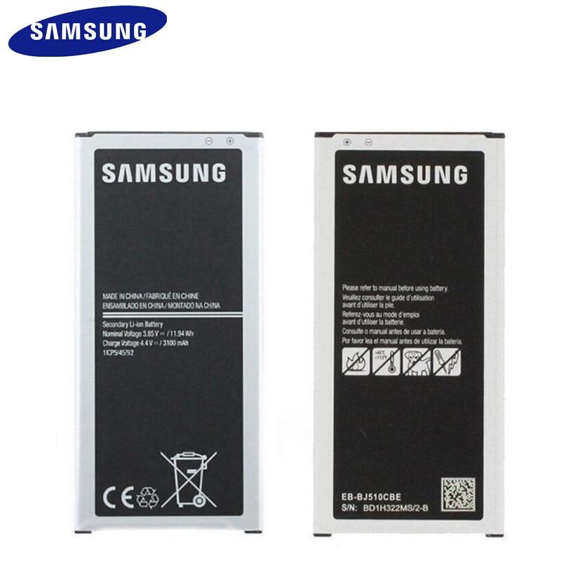 Samsung Battery Eb-Bj510cbe Original for Galaxy Genuine J510fn 3100mah