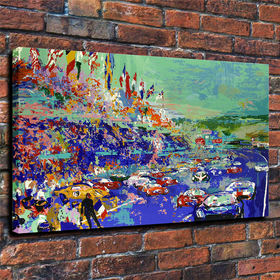 LeRoy Neiman Music and Sports Event Color Print Canvas Painting Living Room Bedroom Home Decor Modern Mural Art Oil Painting#055
