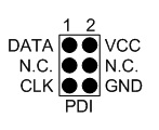 PDI header pinout