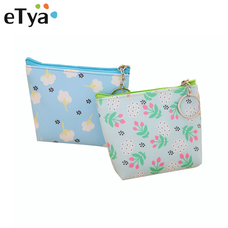 Women Coin Purse Girls Cute Fashion Ladies Kids Mini flower Wallet Bag Change Pouch Key Holder Small Money Bag High Quality