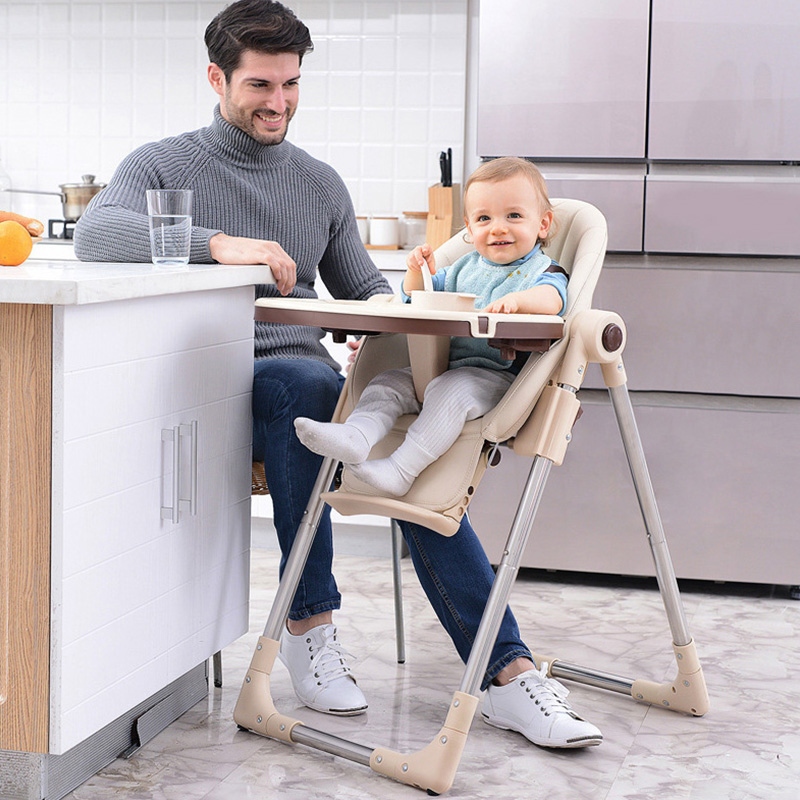 Baby Eating Seats Kids Dining Chair Children Dining Chair Foldable Multifunctional Portable Baby Highchairs Baby Chair Feeding ...