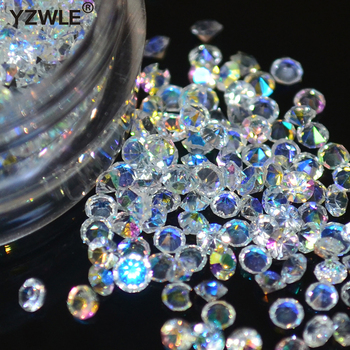Hot selling 1 box/pack 5g 1.5mm Zircon Nail Rhinestones Nail Art Micro Rhinestones Mini Nail Rhinestones Manicure Decorations фото