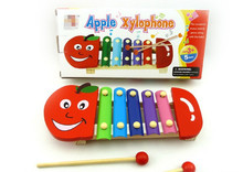New Music Baby Toy Apple Xylophone Color Knock Paino Educational Gift