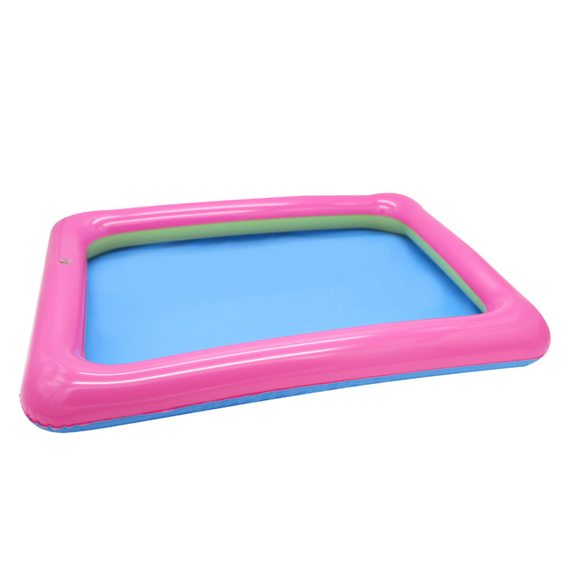 60*45cm Dynamic Sand Tray Indoor Magic Play Sand Children Toys Space Inflatable Accessories Plastic Mobile Table