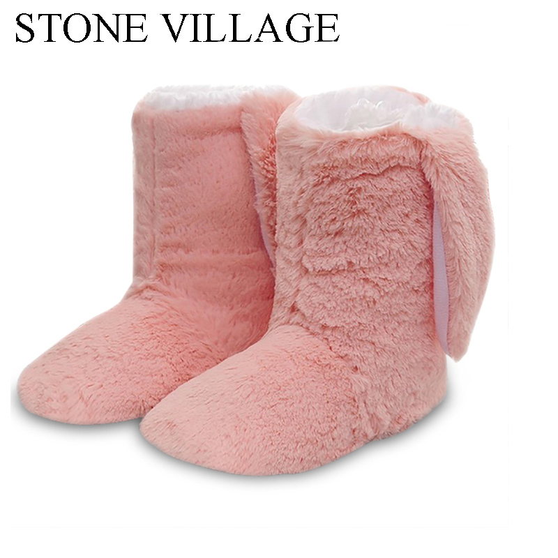 New Winter Plush Slippers Women Home Slippers Fashion Warm Shoes Women Autumn Slippers Home Shoes For Home Shoes Hot Sale soft plush big feet pattern winter slippers