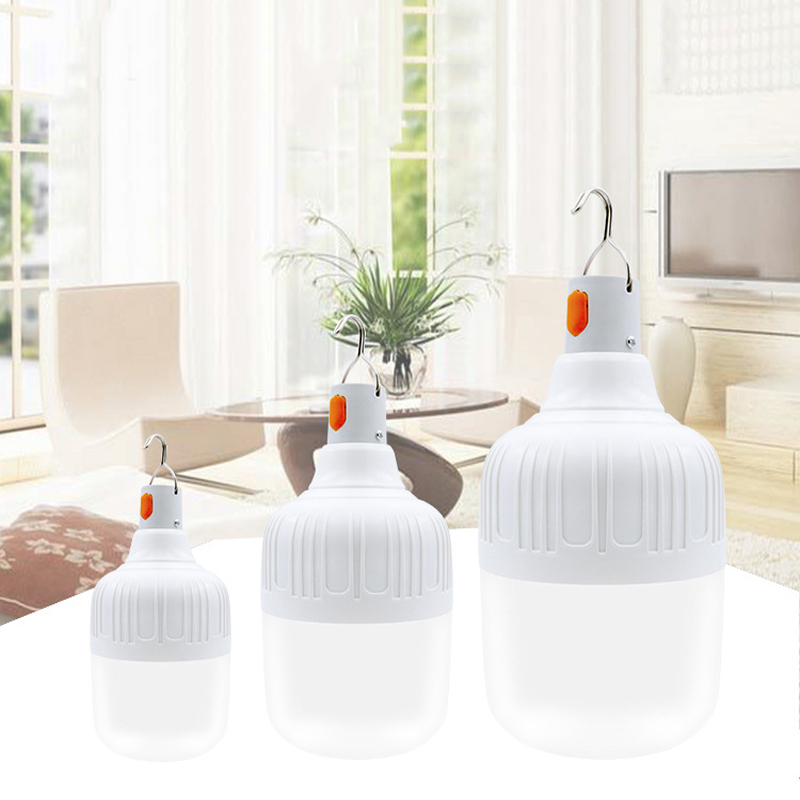 15W Intelligent Emergency Light Bulb LED Emergency Light Rechargeable Light Indoor / Outdoor Lighting