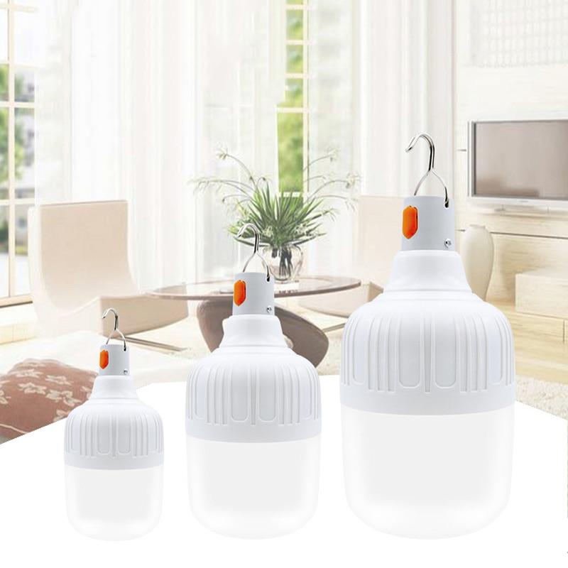 15W Intelligent Emergency Light Bulb LED Emergency Light Rechargeable Light Indoor / Outdoor Lighting