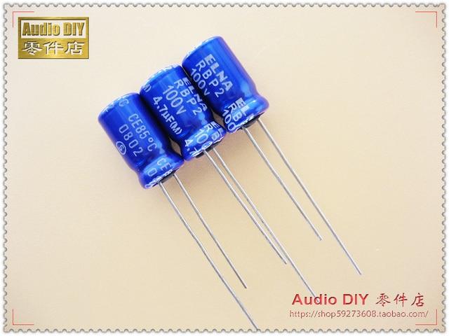 a9cf7fead8 2018 hot sale 30PCS ELNA RBP2 (R2B) series 4.7uF 100V non-polar  electrolytic capacitor (the origl bag packaging) free shipping