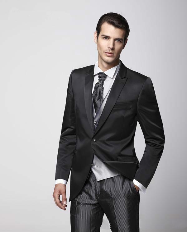 Matte Black Suit | My Dress Tip