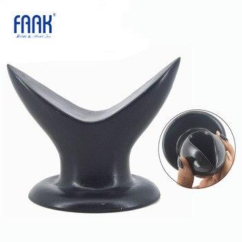 FAAK anal dilatator butt plug sexspielzeug für frauen mann anal trainer erwachsene sex spiel anus stimulieren expansion saug groß analplug