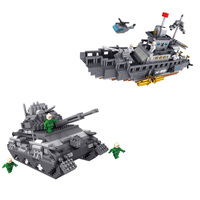 Modern military weapon vehicle micro diamond building block tank Aircraft fighter carrier nanoblock army navy figures brick toys