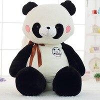 Огромный плюшевая игрушка панда фаршированные Panda кукла подарок на день рождения около 150 см