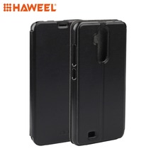 HAWEEL Phone Case for Oukitel C12 / Pro Spring Texture Horizontal Flip Leather Protective Cover Shell