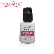 NEWCOME 10ML Korean Eyelash Extensions Sky Glue 3-4S Drying False Extension Over 8 Weeks for Makeup professionals