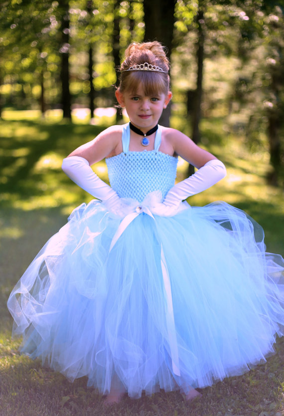 2- 12 year Girl Performance Clothes Cinderella Dress Cinderella Costume Light blue Princess Girl Tutu dress for Halloween PT310 cinderella cinderella night songs