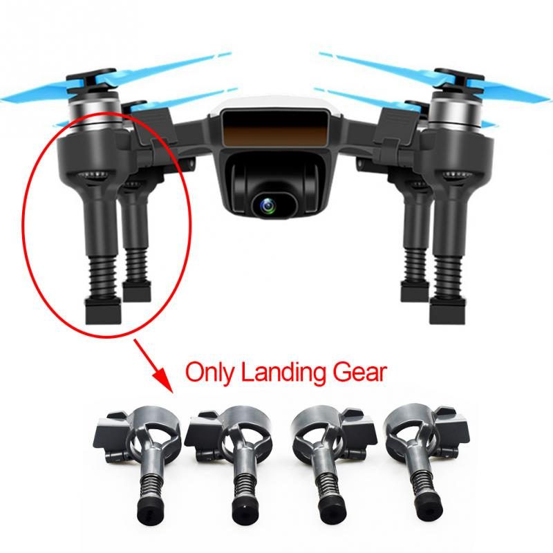 4Pcs Spring Damping Landing Gear Extended Bracket Parts For DJI Spark Drone Accessories #17