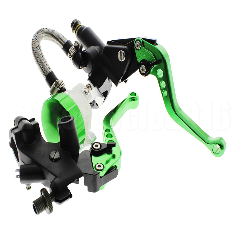 FXCNC  7/8 22mm Universal Motorcycles Brake Clutch Levers Set For Kawasaki NINJA 250R 125CC-300CC Moto Hydraulic Brake Lever regular short fxcnc aluminum moto motorcycles brake clutch levers for kawasaki zephyr 1100 all years brake clutch lever