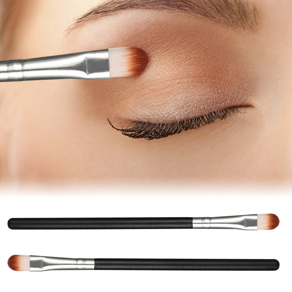 1Pcs Natural Eyeshadow Brush Powder Brush Professional Blending Make Up Brushes Tool