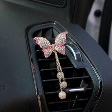 Air-Freshener Interior-Accessories Car-Air-Vent-Perfume Solid Fragrance Cute Crystal