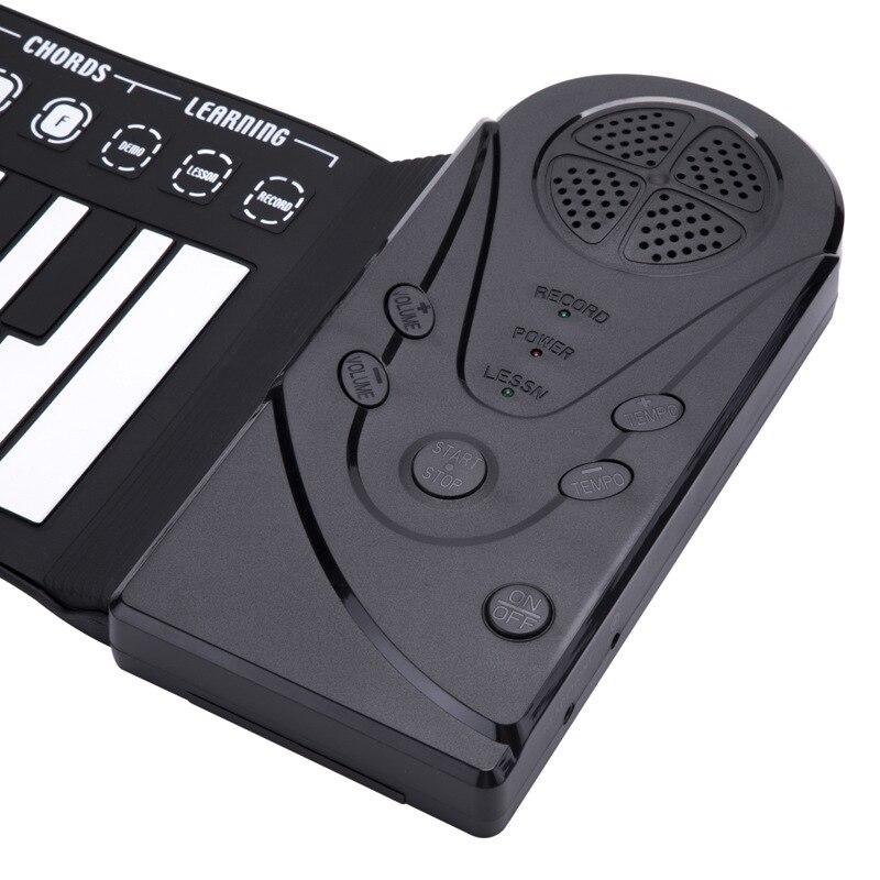 Orgue électronique professionnel pliant main Piano 49 clé épaissie main Piano charge Portable main clavier