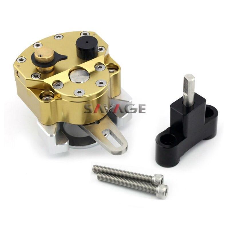 For HONDA VFR 800F 2014-2015 Steering Damper Stabilizer With Mount Bracket бензиновый мотокультиватор honda f 220 k1 det2