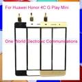 "5.0 ""para huawei honor 4c g play mini nueva pantalla táctil Pancel digitalizador del Sensor de Cristal Negro Oro Blanco Número de seguimiento Libre gratis"