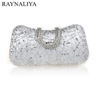 Luxury Crystal Bag Handmade Style Rhinestones Pearl Women Evening Bags Vintage Satin Lady Party Wedding Cluthes SFX A0263