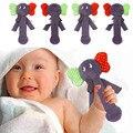 Infantil animais sino de mão chocalhos macios plush stuffed toy handbell educacional sounding toys 0-12 meses do bebê mobiles
