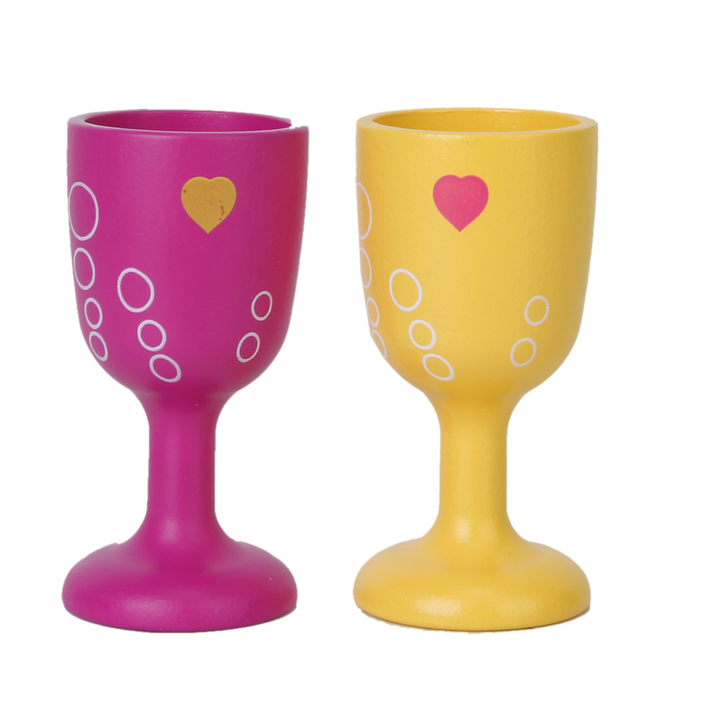 MagiDeal 4pcs 1//12 Miniature Goblet Cup Wine Glass Dollhouse Tableware ACCS