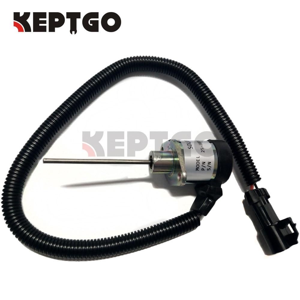 25-38109-06 Stop Solenoid For Kubota 05 06 Series SA-4668-S25-38109-06 Stop Solenoid For Kubota 05 06 Series SA-4668-S