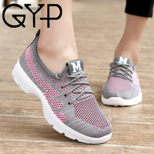 GYP 2018 summer new breathable women sneakers light comfortable walking shoes female shoes zapatillas mujer YC-413