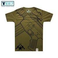 TEE7 Man Fashion Short Sleeve T Shirts CSGO Pattern Design T Shirt 100 Cotton Printed Men