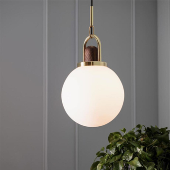 Glass lampshade Dining Room Led Pendant light Gold Living Room Bedroom Light Nordic Pendant Lamp Loft Parlor Decoration