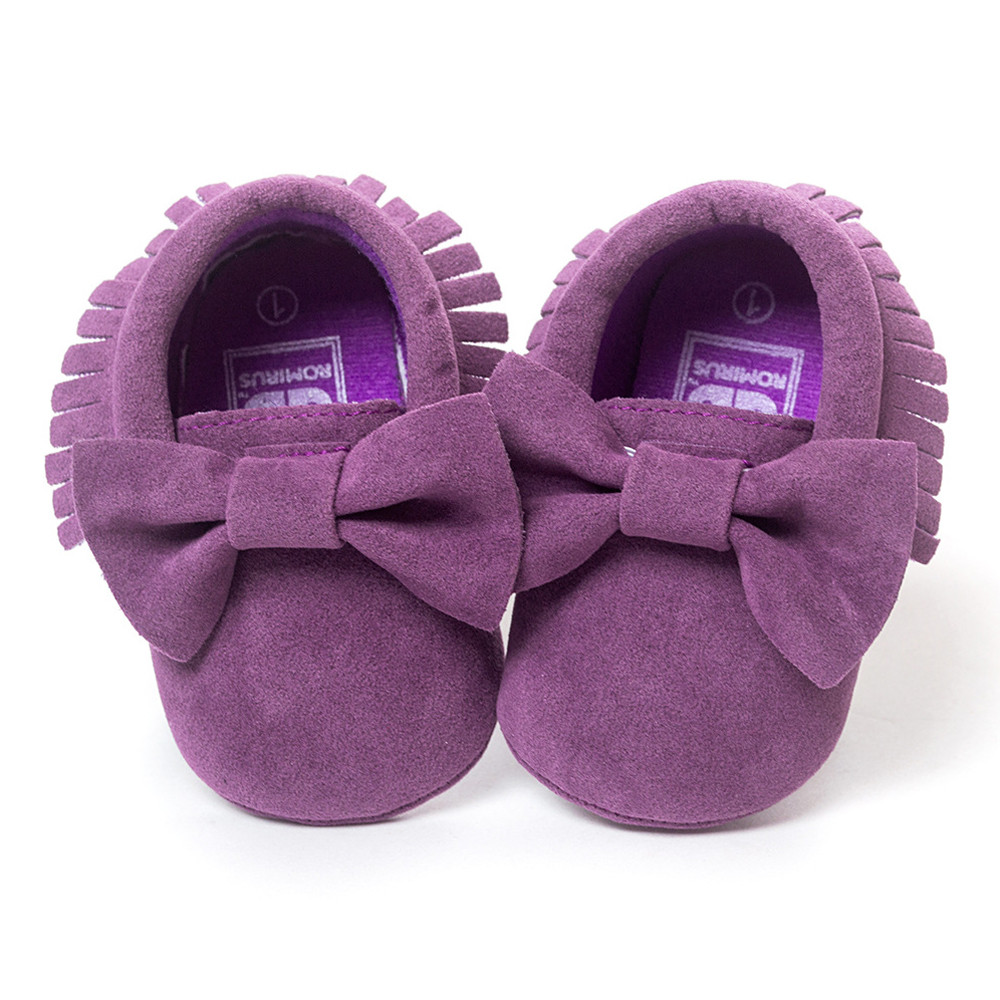 8 Colors Brand Spring Baby Shoes PU Leather Newborn Boys Girls Shoes First Walkers Baby Moccasins 0-18 Months