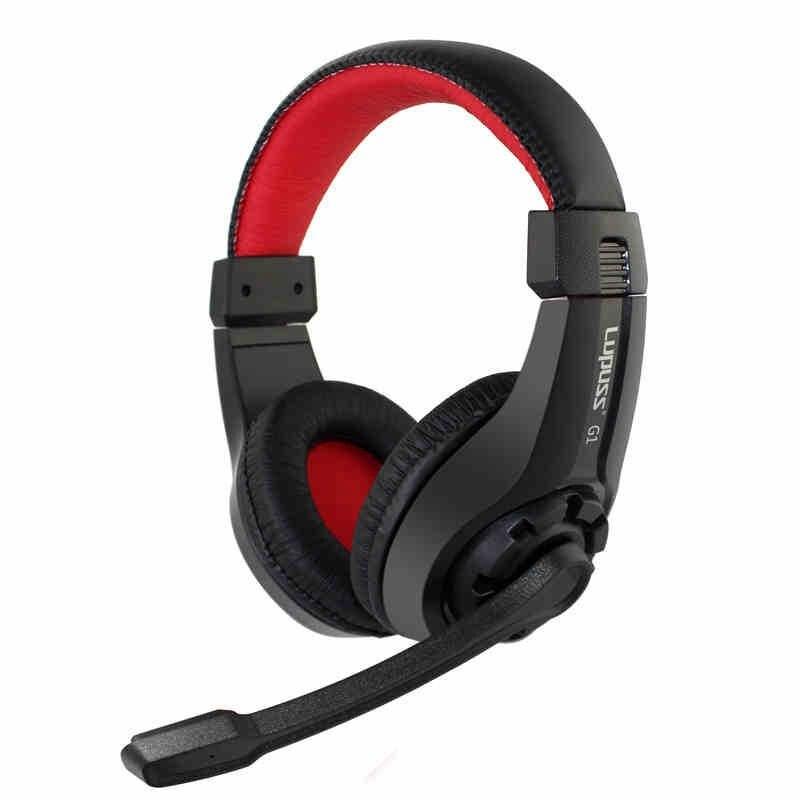 G1 Over-ear Sport Ajustable Gaming Stereo Bass Auriculares con Micrófono para Ju