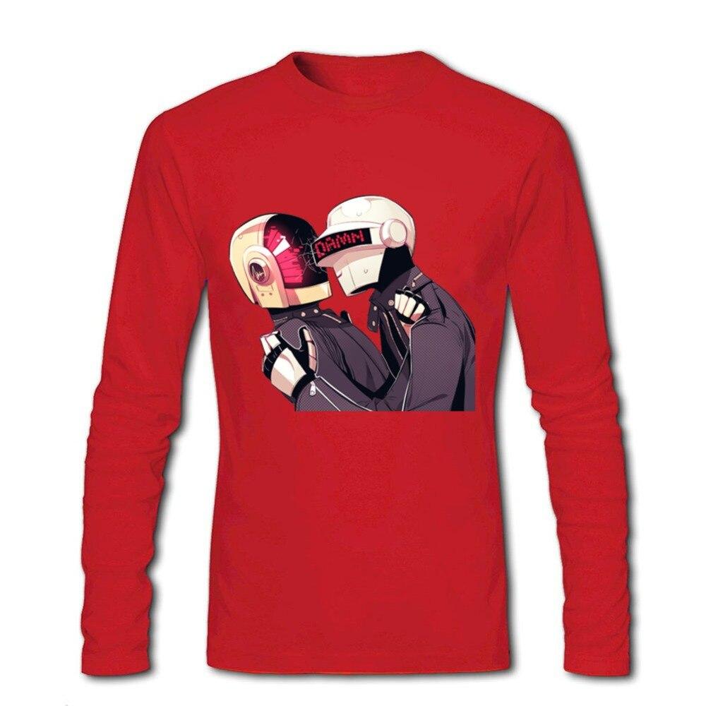 2018 daft punk men t shirt daft punk print tee camisa masculina camisa masculina manga curta