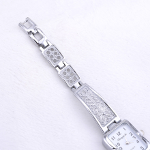 luxury silver watch women watches bracelet women's watches fashion ladies watch clock relogio feminino dames horloges