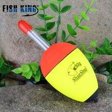FISH KING 2pcs/lot 5g 10g 15g 20g 25g 30g 50g 80g Luminous Float Foam Fishing Floats Night Float EVA Big Foam Float Light Stick