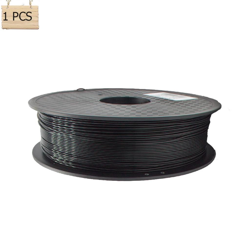 ФОТО 3D Printer Filament Conductive Plastic Material Filament 3mm/1.75mm 1kg/Roll For Impressoras 3D Printing Filaments