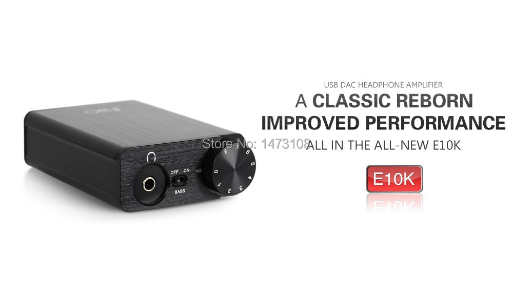 Free shipping Portable USB DAC Headphone Amplifier EK