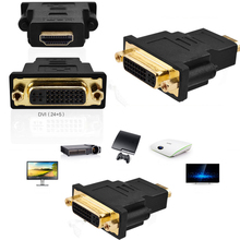DVI to HDMI Adapter Converter DVI 24+5 Male to HDMI Female Converter for HDTV LCD PC Computer DVD Projector PS3 PS4 TV BOX 30cm hdmi to dvi 24 5 adapter cable black m f hdmi male to dvi female video adapter cord for pc hdtv lcd dvd mayitr