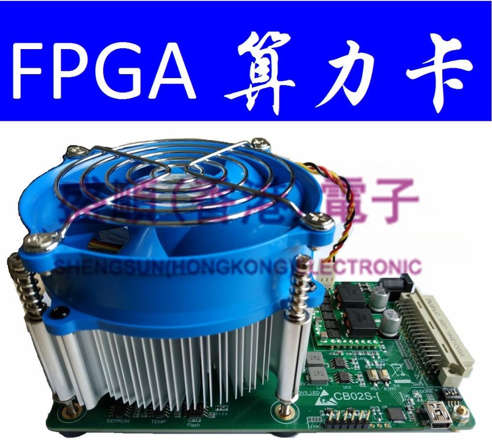 Xilinx Kintex-7 XC7K420T FPGA Supercomputer Machine Learning Algorithms Verify Power Board