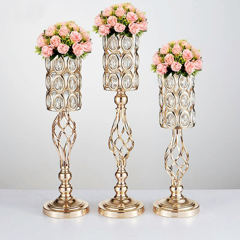 Table centerpiece cm tall gold flower stand