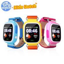 2017 Детские GPS Q90 Q50 Смарт-часы SOS вызова Расположение Finder локатор устройства трекер GPS детские безопасные анти потерял мониторы Q90