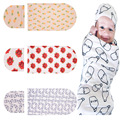 Ins 2017 New Baby Cotton Sleeping Bunting Bag With Footmuff Pokemon Milk Bottle Rose Print Sleep Bag Stroller Baby Envelope