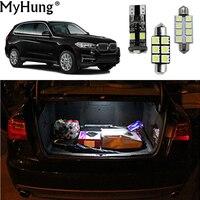 Car Led Light For BMW 3 5 Series 318 320 320i 325 335 E90 E92 E60 X1 E84 F48 2008 2017 X3 X5 Car Bulbs Reading Lamp White 21pcs